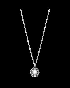 Georg Jensen Moonlight Blossom halsband m/silversten - silver