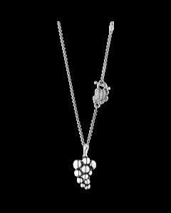 Georg Jensen Moonlight Grapes halsband m/hängsmycke - silver (lille)
