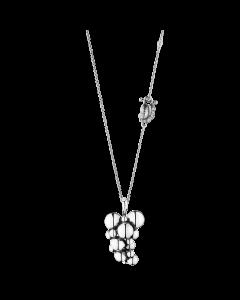 Georg Jensen Moonlight Grapes halsband m/hängsmycke- silver (stor)