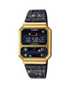 Pac-Man Vintage Limited Edition fra Casio - A100WEPC-1BER