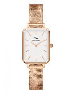 ADW00100431 fra Daniel Wellington - Lækkert Dameur Quadro Melrose White