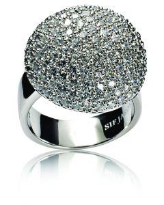 Sif Jakobs Comacchio Ring i Sterling Sølv SJ-R9870-CZ