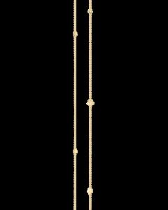 Lace Blonde 18 Karat Guld Halskæde fra Ole Lynggaard med Diamanter 0,02 Carat TW/VS