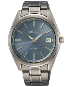 Seiko SUR371P1 - Lækkert herreur Titanium